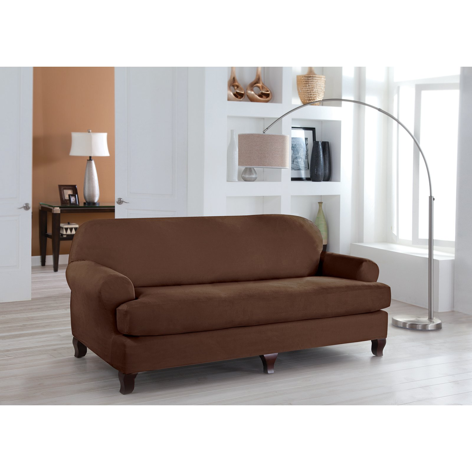 Tailor Fit Stretch Fit Sofa Slipcover Walmart