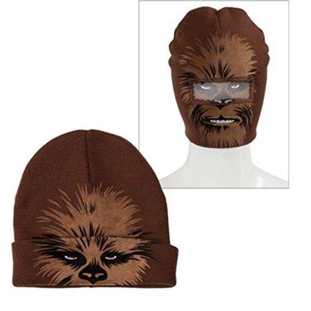 Disney - Star Wars Chewbacca Roll-Down Beanie Hat - Walmart.com 8032ca2ad884