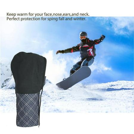 Windproof Warmer Mask Face Cycling Windshield Motorcycling Skiing Snowboarding - image 3 de 7