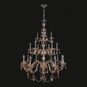 Worldwide Lighting Provence 21-Light Candle-Style Chandelier