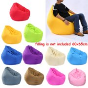 Bean Bag Cover Only, Washable Bean Bag Chair Replacement Cover , Without Bean Filling 60X65CM
