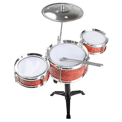 Desktop Drum Set Musical Instrument Toy For Kids Party's & Holiday Gatherings � By Kidsco by Kidsco