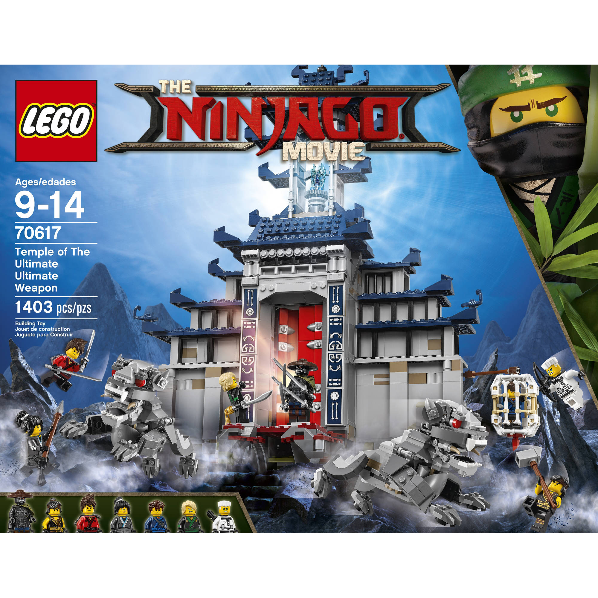 Lego ninjago movie temple ultimate weapon set minifigures 70617 new sealed legos ebay - Ninja ninjago ...