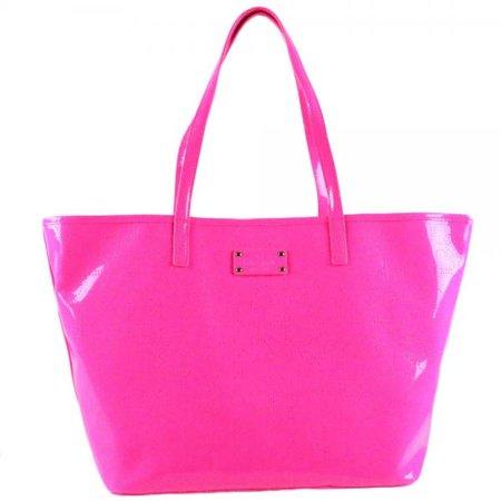 Kate Spade Metro Spade Small Harmony Tote Pink Sapphire (WKRU1878)