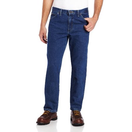 Relaxed Straight Fit 5 Pocket Jean