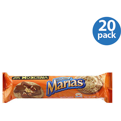 La Moderna Maria's Vanilla Cookies, 4.94 oz, (Pack of 20)