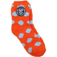New York City FC ZooZatz Women's Fuzzy Dot Socks - OSFA
