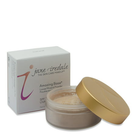 jane iredale Amazing Base SPF 20 Loose Mineral Foundation-Natural 0.37 Oz