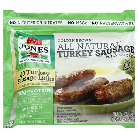 recipe: jones turkey sausage nutritional information [11]