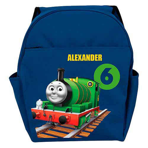 Personalized Thomas & Friends Percy Blue Backpack