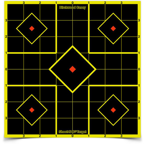 "Shoot•N•C® 8"" Sight-In Target - 6 targets"