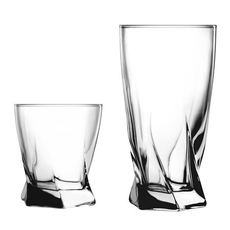 Anchor Hocking Drinkware Set, 16 - Anchor Hocking Glass Dinnerware