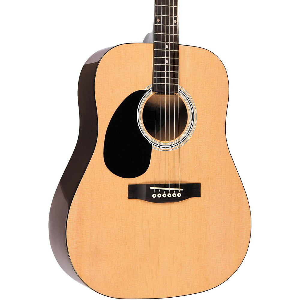 Rogue RG-624 Left-Handed Dreadnought Acoustic Guitar Natural by