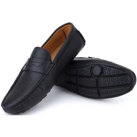 Mio Marino Mens Loafers - Italian Dress Casual Loafers for Men - Slip-on Driving Shoes - in Gift Shoe - Avenue Shoes