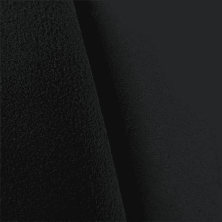 Charcoal Gray Soft Shell Fleece, Fabric By the Yard Bugaboo Gray Fleece