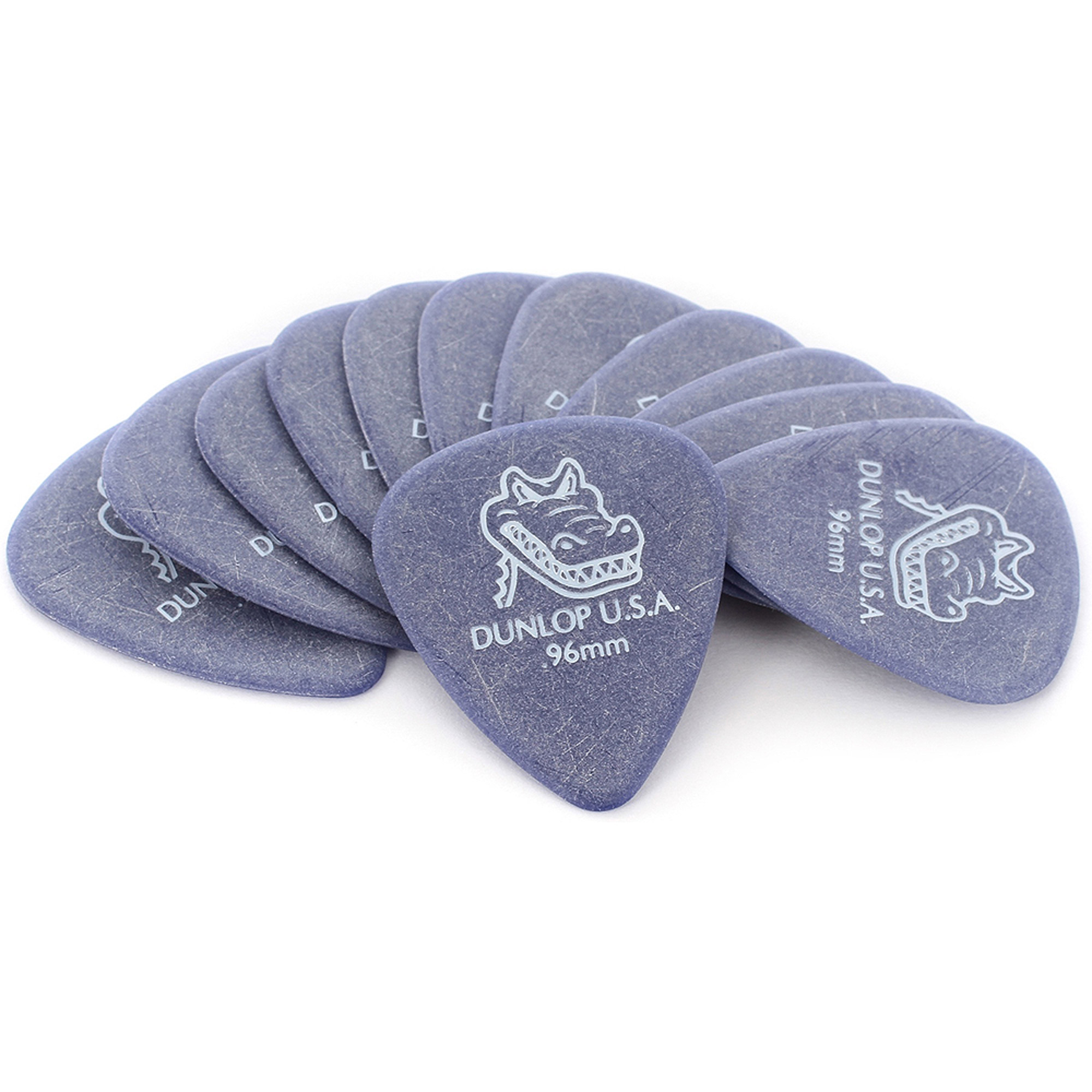 Dunlop Gator Grip Standard Guitar Picks 12-Pack .96mm by Dunlop