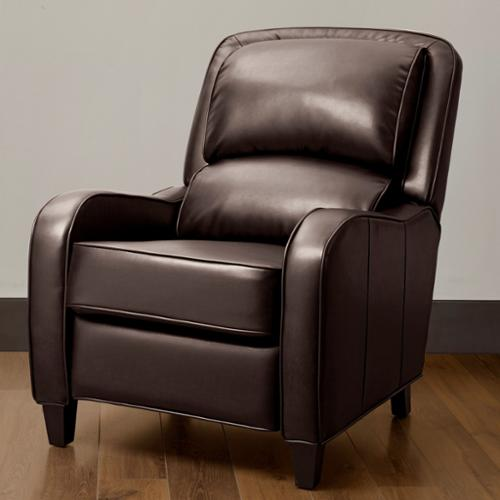 I Love Living Filmore Brown Bonded Leather Recliner