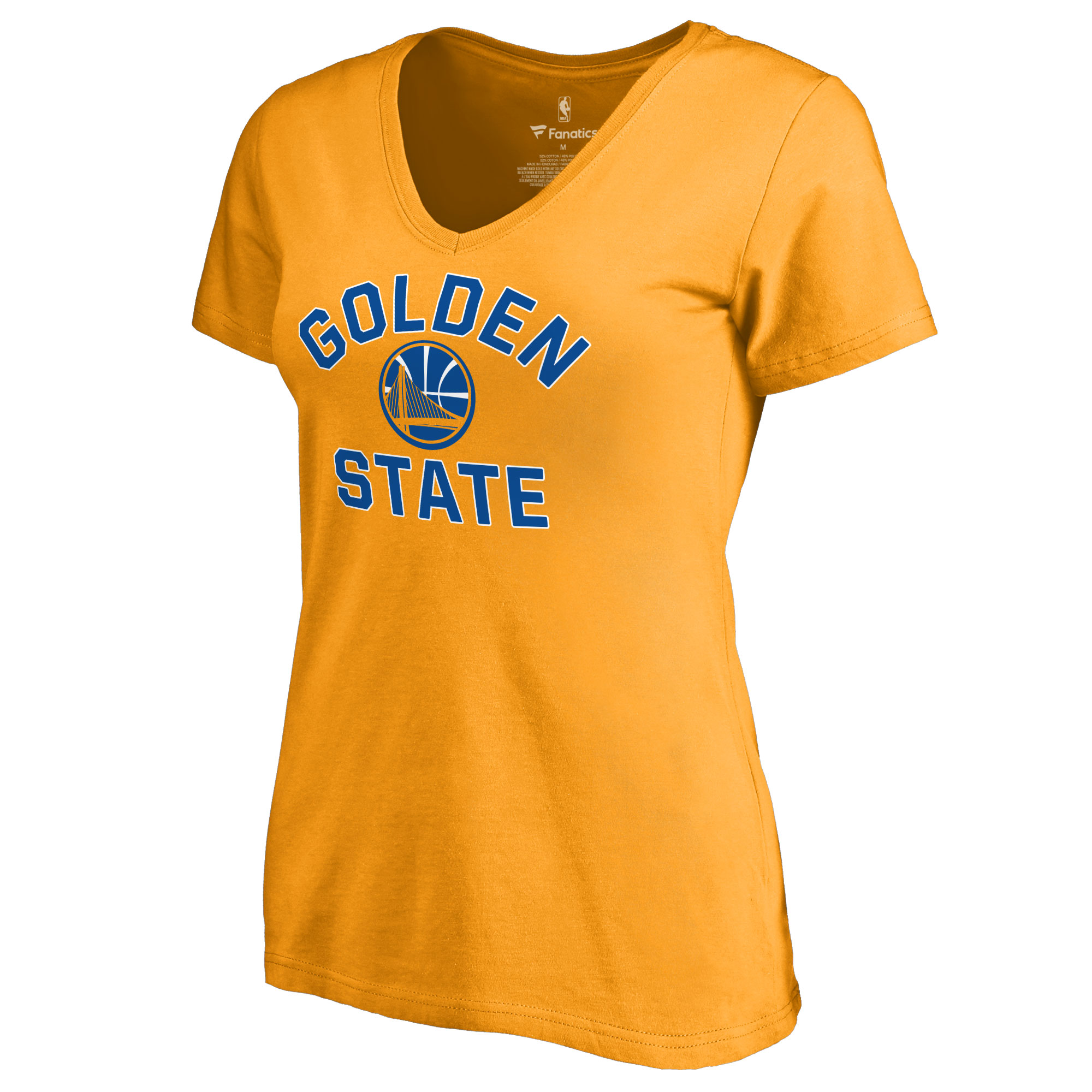Golden State Warriors Women's Overtime T-Shirt - Gold