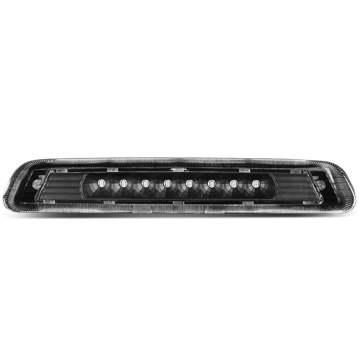 Rear High Mount Black Housing LED 3rd Third Tail Brake Light Replacement for Toyota 4Runner N210 w//o Spoiler 03-09