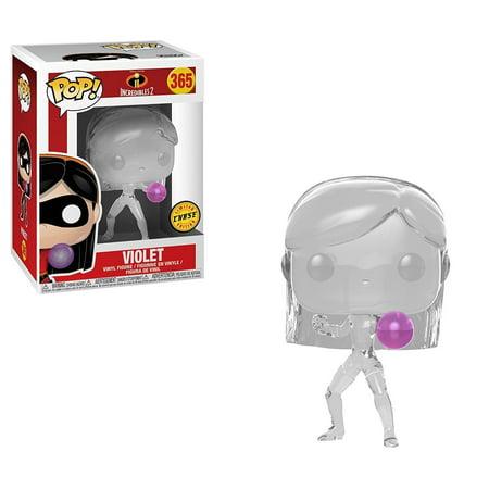 Incredibles 2 Violet Pop! Chase variant Vinyl Figure.