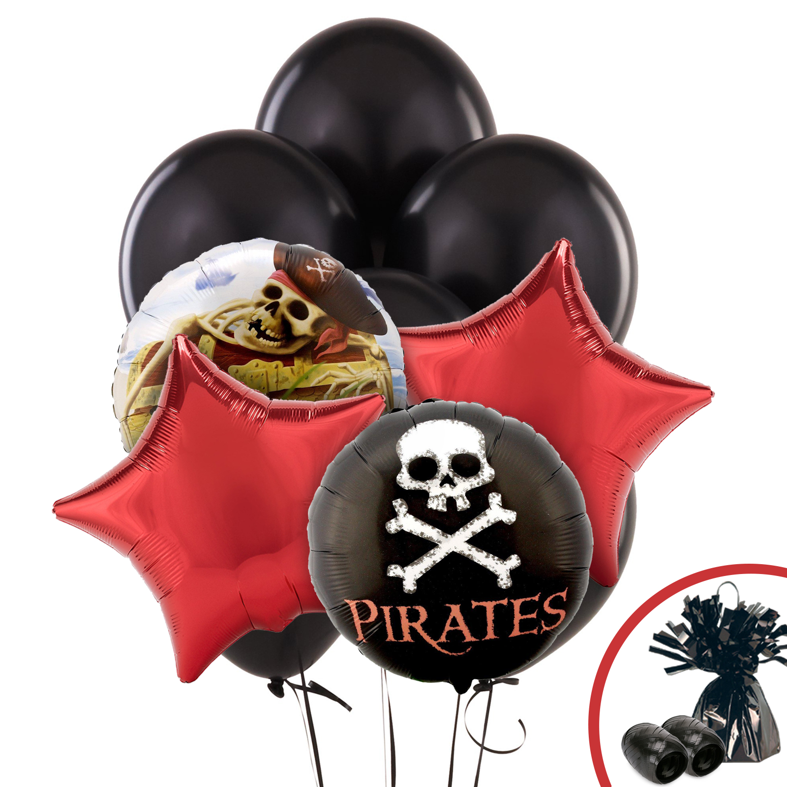 Pirate Party Balloon Kit - Party Supplies