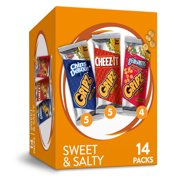 Kellogg's Gripz Cookies and Crackers Variety Pack 12.6 Oz 14 Ct