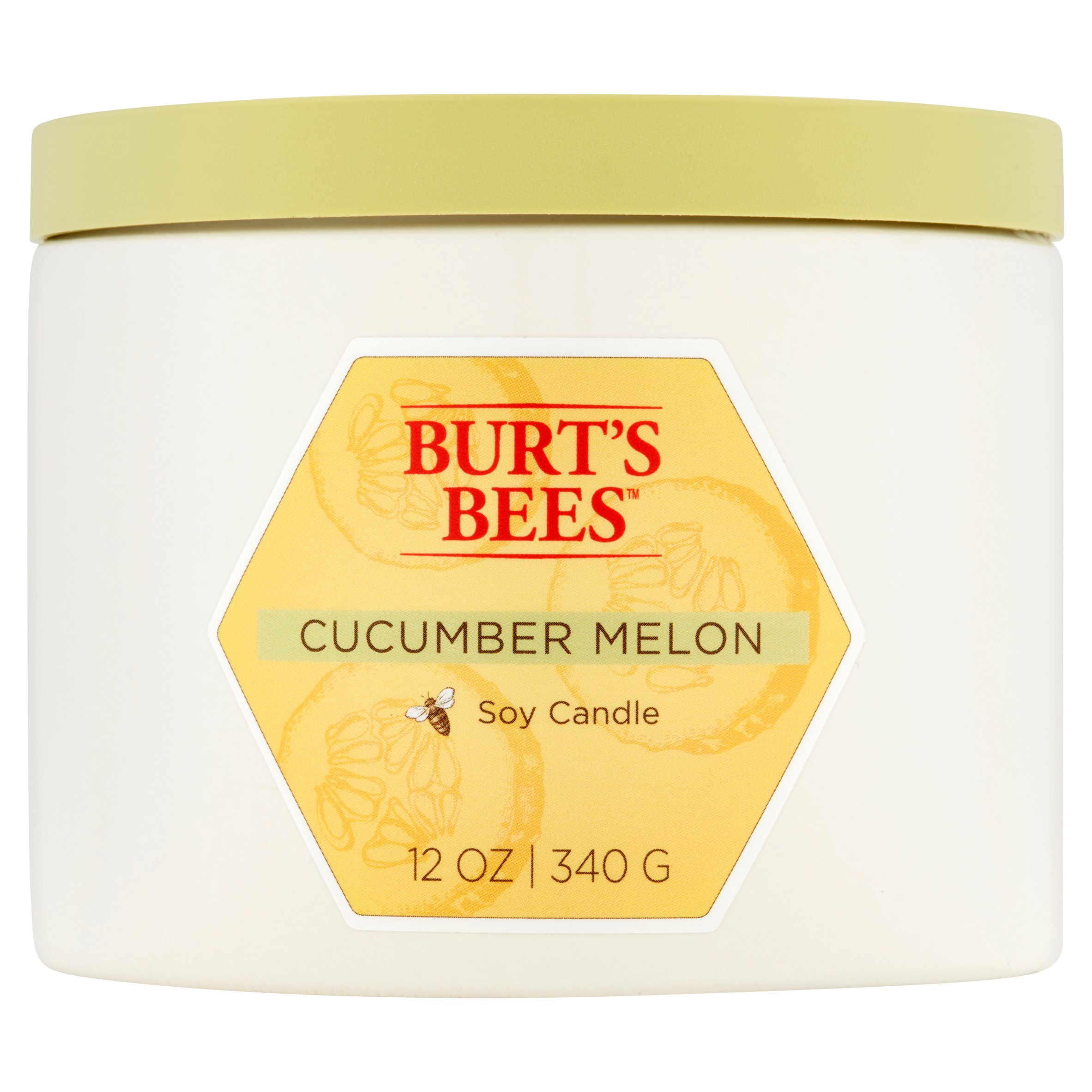 Burt's Bees Cucumber Melon Soy Candle, 12 oz