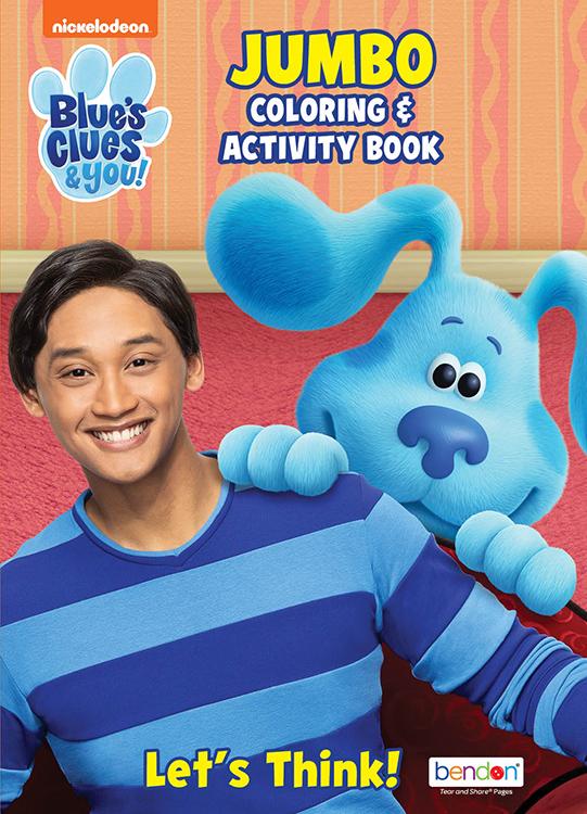 Bendon Publishing Blue's Clues & You Jumbo Coloring Book - Walmart.com -  Walmart.com
