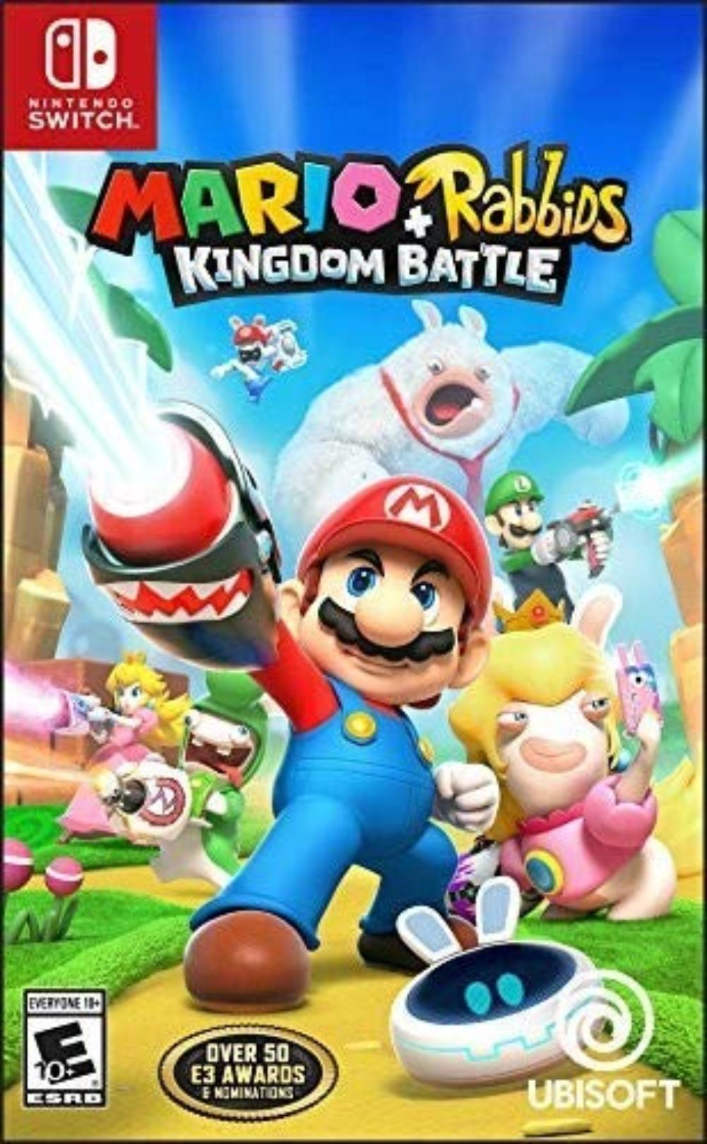 Mario + Rabbids Kingdom Battle Nintendo Switch Standard Edition, Winner of over 50 E3 awards and nominations... by