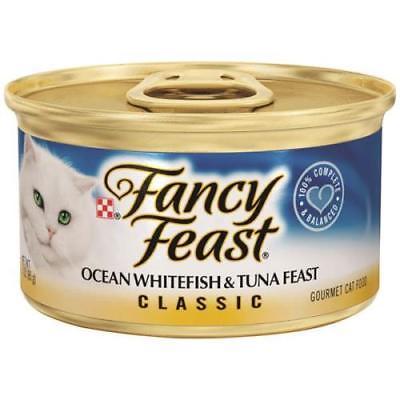 10PK Fancy Feast Classic Ocean Whitefish & Tuna Feast