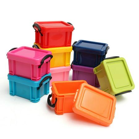 Storage Bins Asewin 9pcs Multicoloured Storage Boxes
