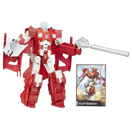 Girl From Transformers (Generations Combiner Wars Voyager Class Scattershot Figure, 2-in-1 Scattershot figure By Transformers Ship from)
