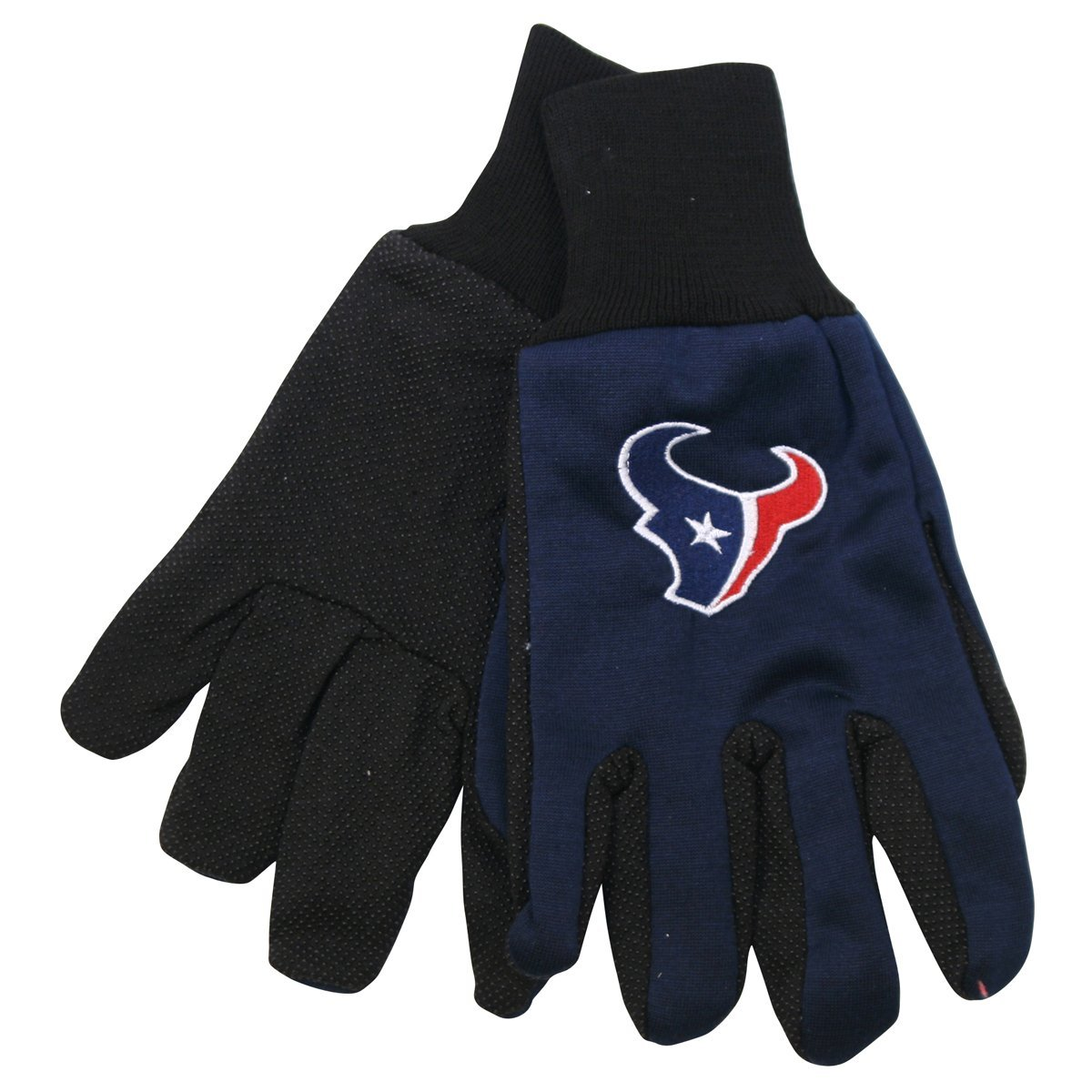 Houston Texans NFL Utility Gloves (Pair) Football Team Logo Work Grip HOU by