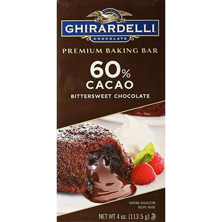 Ghirardelli Chocolate, Premium Baking Bar, Bittersweet Chocolate