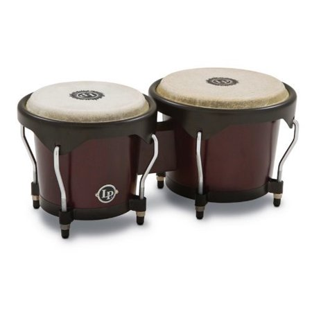 LP City Wood Bongos - Dark Wood