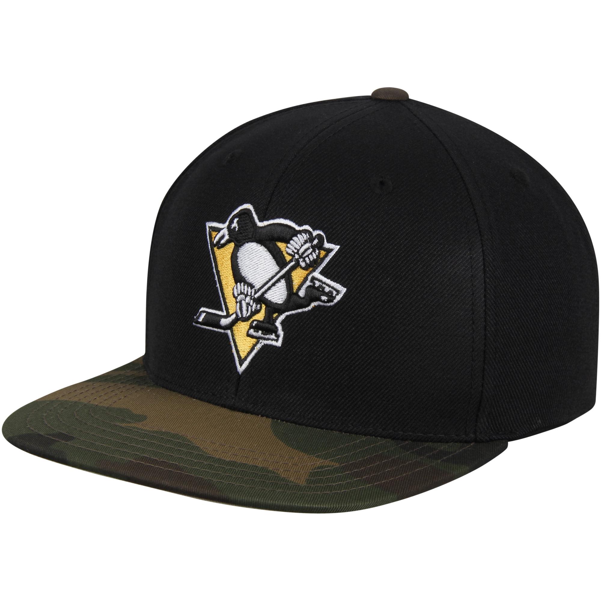 Pittsburgh Penguins American Needle Sundown Snapback Adjustable Hat - Black - OSFA