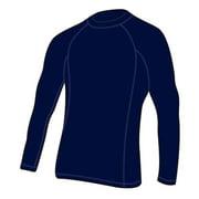 Adoretex Men's Rashguard UPF 50+ Long Sleeve Swimwear Swim Shirt (RS005M) - Red - Small
