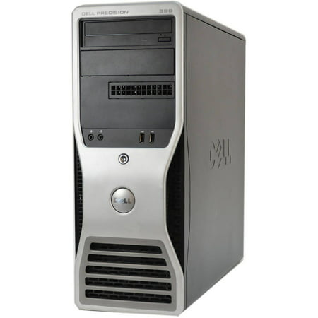 Refurbished Dell 390-T WA1-0222 Desktop PC with Intel Core 2 Duo Processor, 4GB Memory, 500GB Hard Drive and Windows 7 Professional (Monitor Not Included)