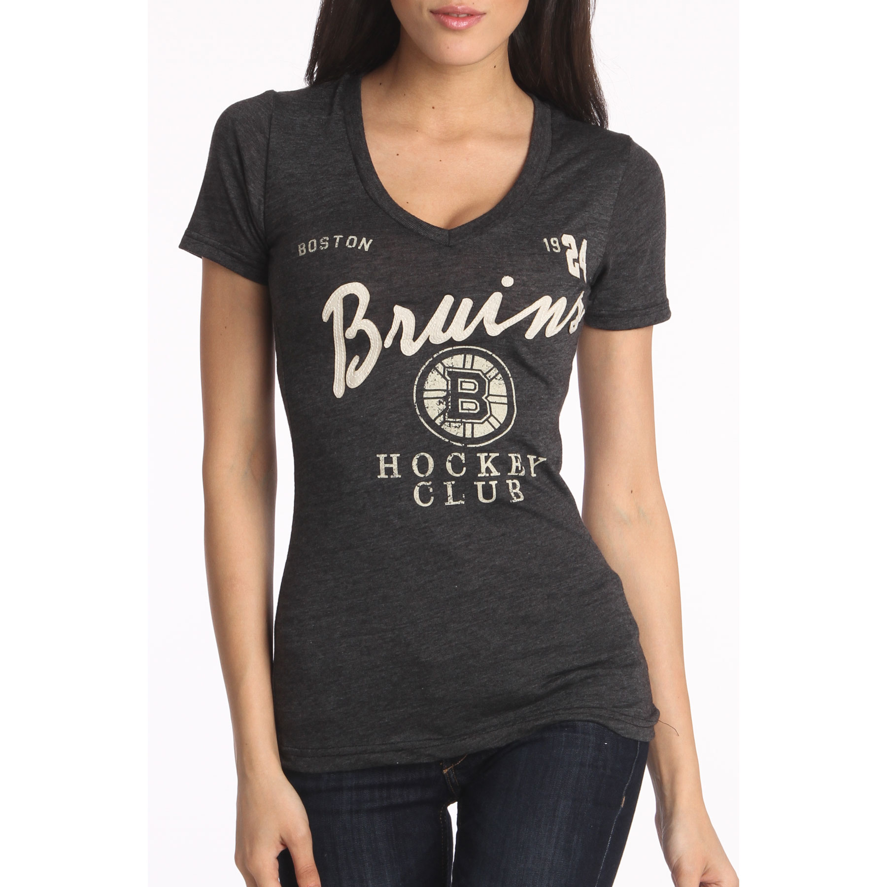Boston Bruins Women s Helene T-Shirt - Old Time Hockey f46e0627a