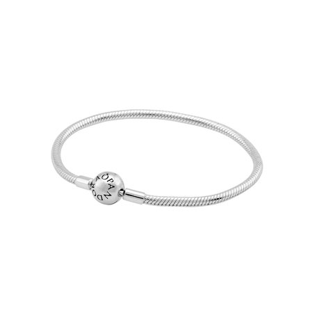 Pandora Silver Smooth Ladies Bracelet 59072819