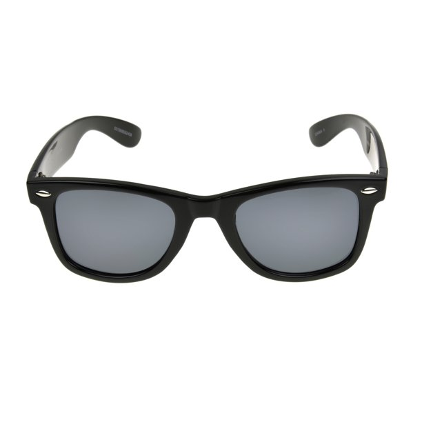 Foster Grant Men's Black Retro Sunglasses GG02