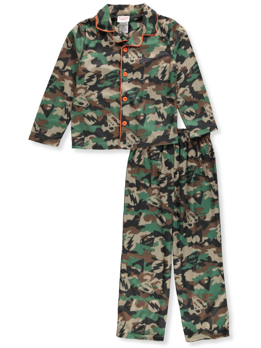 Justice League Boys' 2-Piece Pajamas