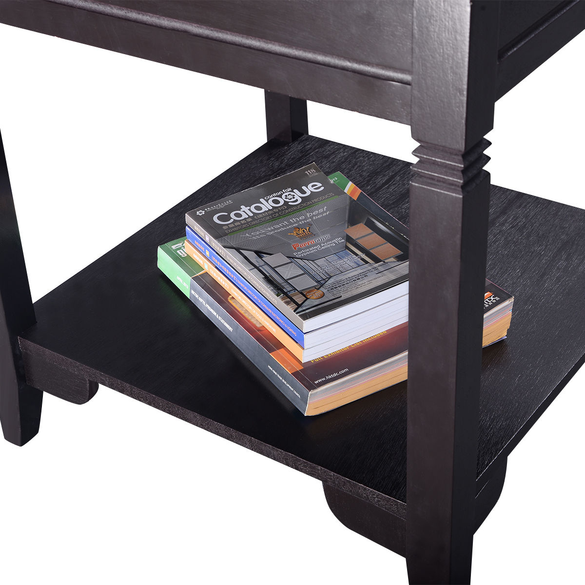 Costway End Table Durable Quality Furniture Shelf Decor Home Living Room    Walmart.com