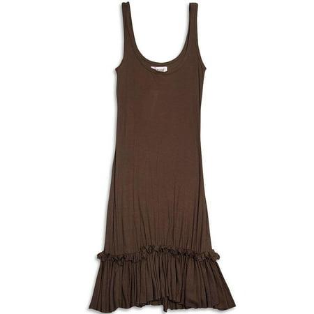 Celeb Kids - Ladies Tank Dress Brown / 5](Dress Like A Celebrity For Halloween)