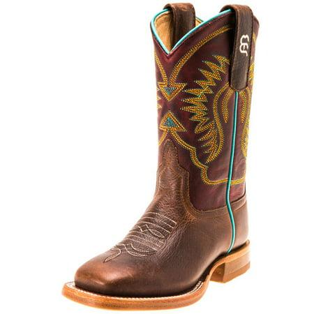 (Anderson Bean Boys Kid s Moka Pit Bull Cowboy Boots)