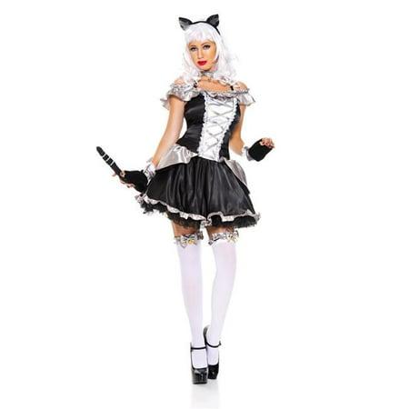 Music Legs 70751-XS 6 Piece Anime Cat Woman Costume, Extra Small