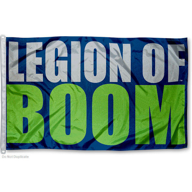NFL Seattle Seahawks Legion of Boom 3' x 5' Flag