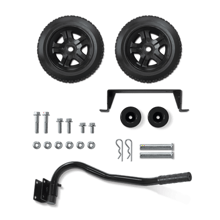 Champion 40065 Wheel Kit with Folding Handle and Never-Flat Tires for 2800 to 4750-Watt Generators (Champion 6250 Generator)