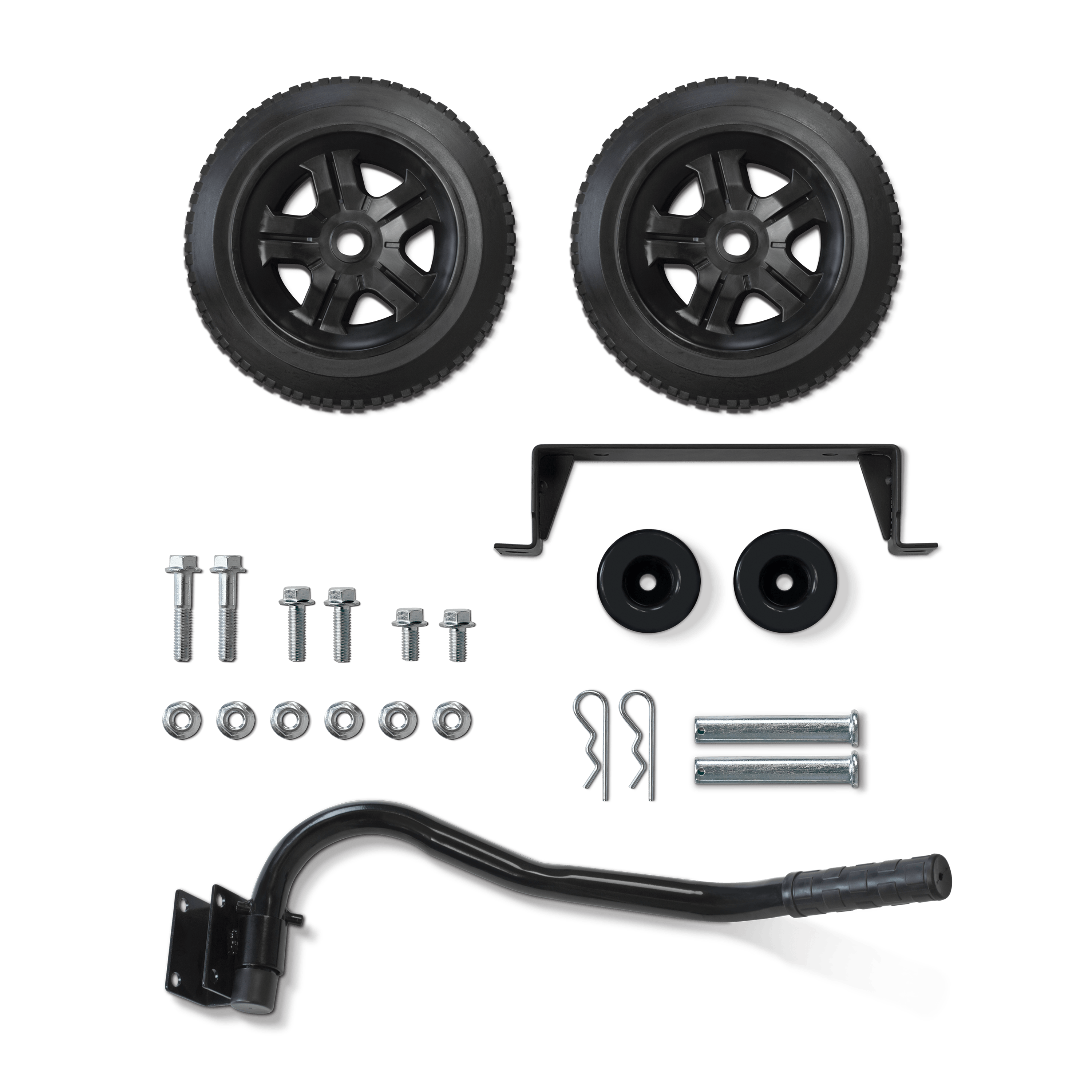 Champion 40065 Wheel Kit with Folding Handle and Never-Flat Tires for 2800 to 4750-Watt Generators