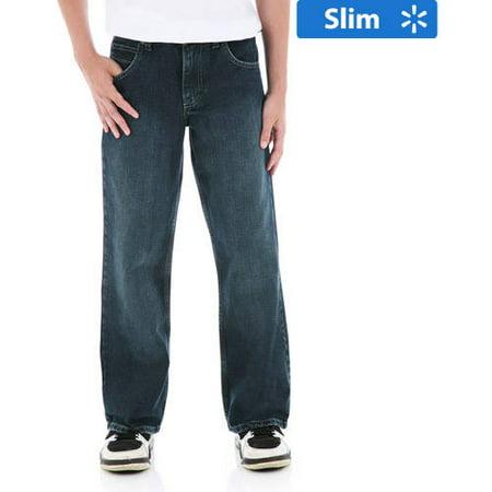 Wrangler Boys&39 Slim Classic Boot Cut Jeans - Walmart.com